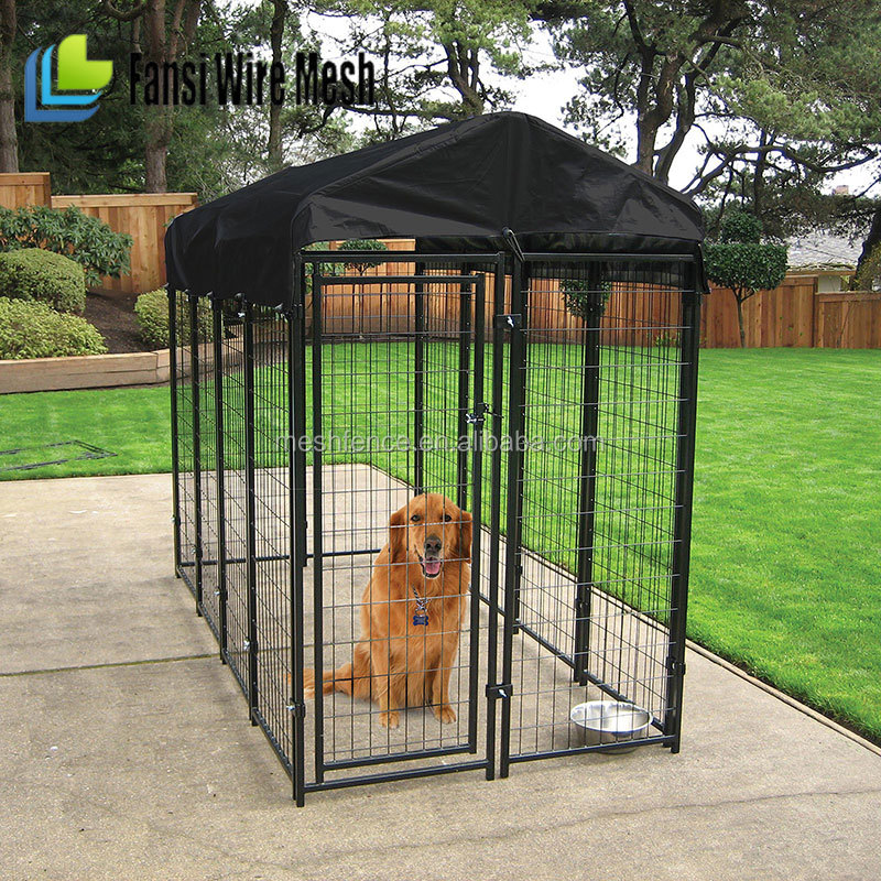 High Grade Galvanized Stainless Steel Rust Proof Dog Cage