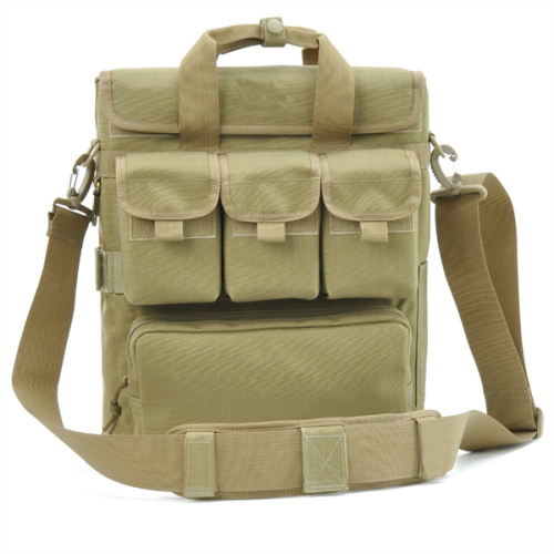 Eco canvas military polyester heavy duty messenger bag