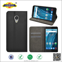 magnetic wallet flip leather case cover for ZTE Blade V7