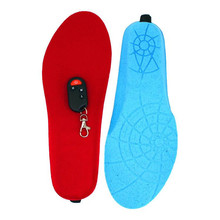 New products electric heated shoes insole