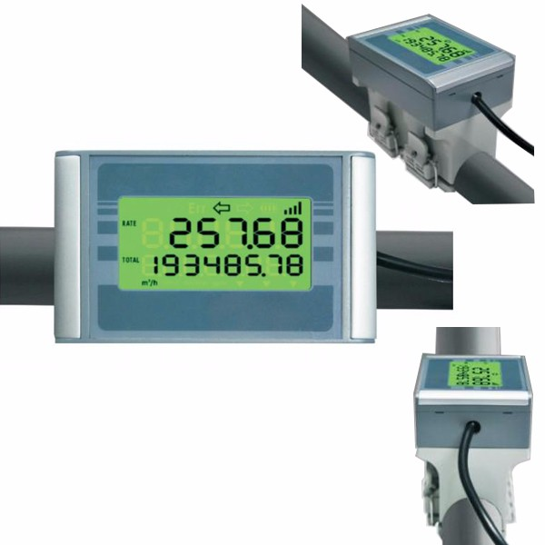 High performance digital oval gear flow meter