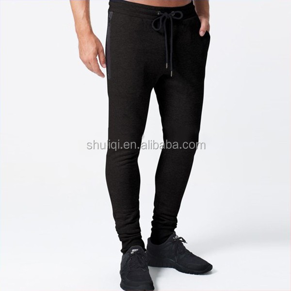 different kinds of men 100 cotton training pants jogger tapered pants army pants logo attached