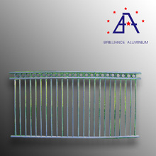 Decorative anodized aluminium fence