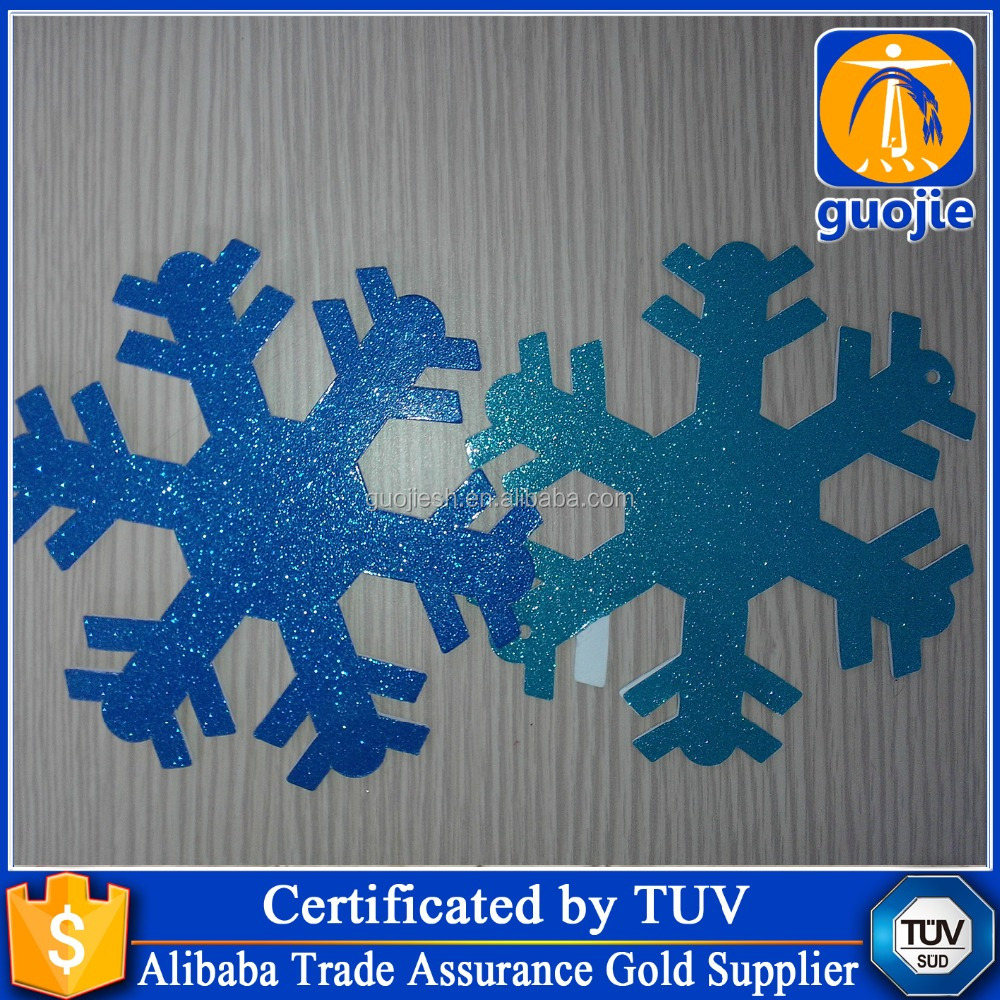 custom snowflake static window stickers