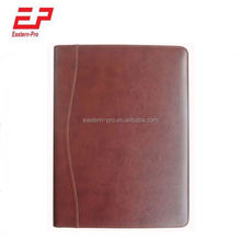 A4 size PU leather document folder with Ipad holder