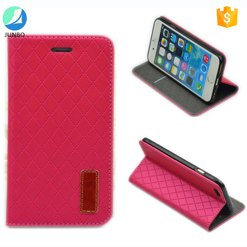 2017 Hot selling in alibaba mobile phone accessory leather wallet case for iphone 6 flip phone case