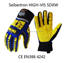 Seibertron HIGH-VIS Cold Winter Condition Oil and Gas Waterproof Mining <strong>Safety</strong> Working Gloves