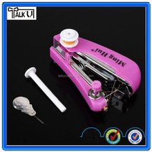 High quality portable handy stitch manual household mini sewing machine, easy use handheld clothes mini sewing machine