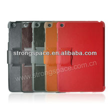 Hot !new design for ipad mini leather case