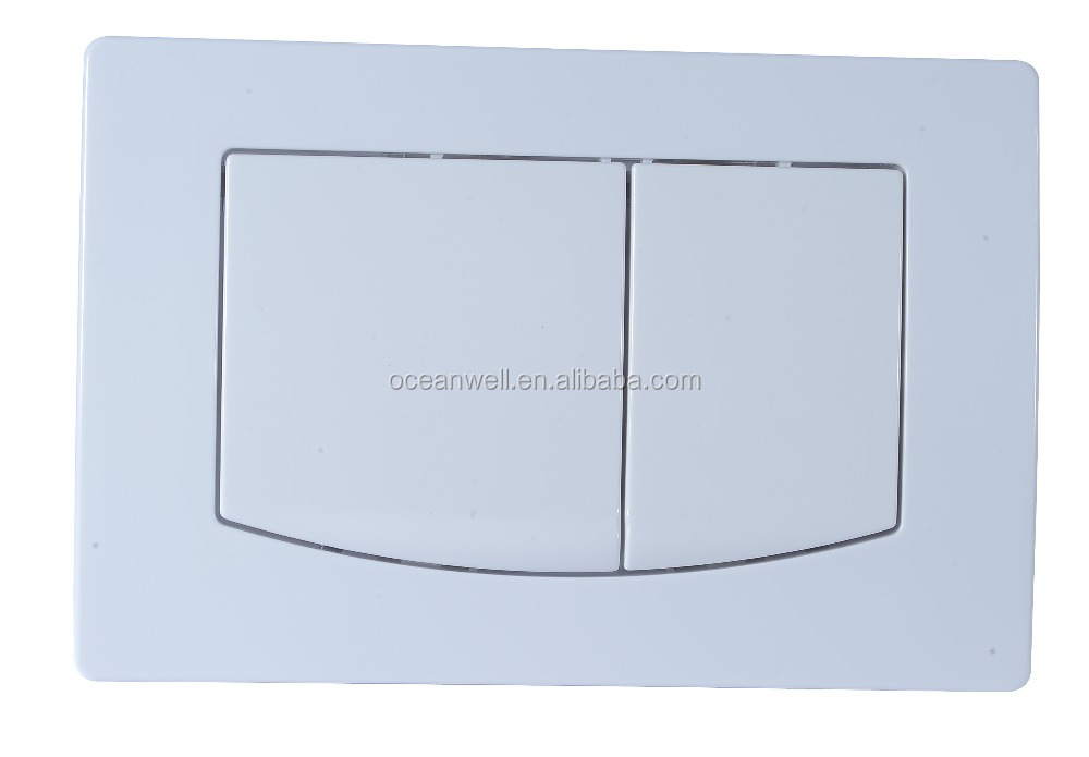 Xiamen factory ABS Dual Flush Control Plate for Concealed Cistern Made in China