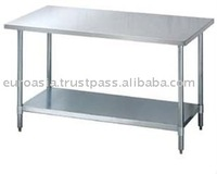 TABLE - STAINLESS STEEL WORKING TABLE 6ft X 3ft