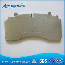 High Shear Strength High Conformity truck back plate of brake pad