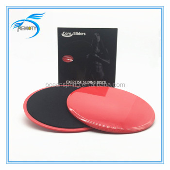 High quality core slider|gliding discs|plastic slider|exercise sliding discs