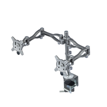 Quick release Double LCD/monitor arm