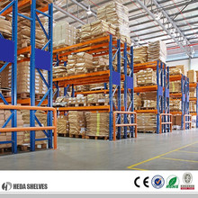 warehouse stacking heavy duty pallet rack