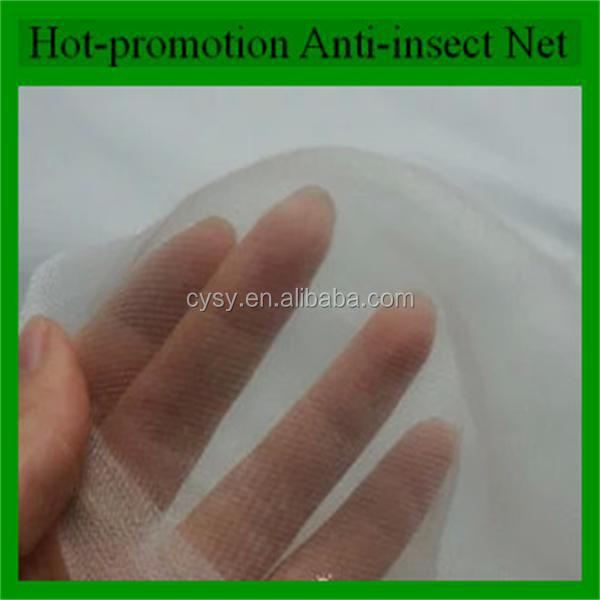 Cheap and hot-selling HDPE transparent Agriculture Insect Proof net & greenhouse insect net