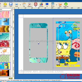 Making mobile skin software for any mobile phone