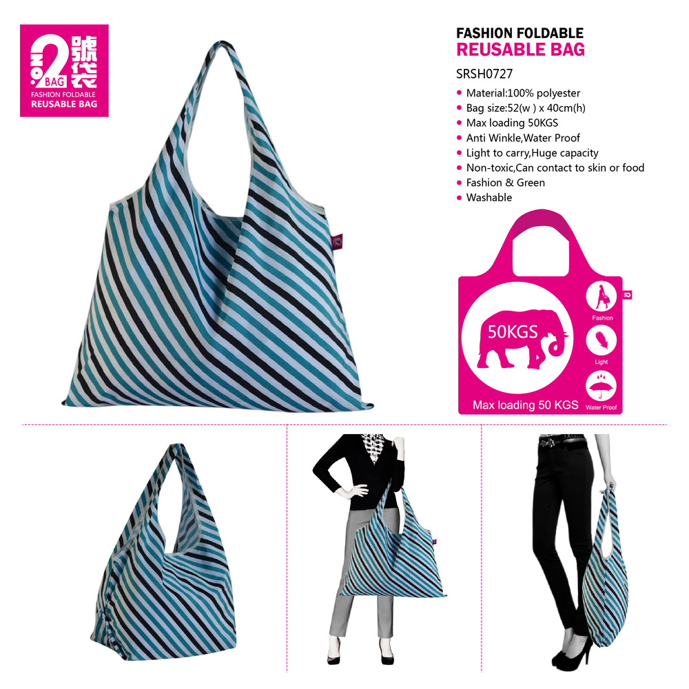 Folding Polyester Bag Polyester Shopper Bag