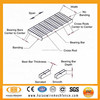 High quality galvanized steel grating catwalk steel grating platform