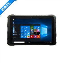 "10"" rugged vehicle diagnostic handheld computer for windows tablet rs232 port rj45 with ethernet port"