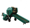 Myway hydraulic with conveyor fodder fermentation silage straw wrapping machine for sale
