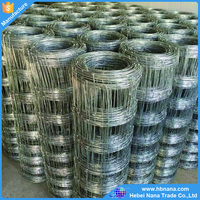 high strength long-life fixed knot woven wire fence