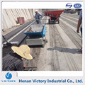 Concrete Hollow-Core Interlocking Panels making machine for partition wall construction