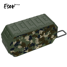 Eson Style 2018 New Products Bluetooth V4.2 Outdoor Tough Mini Mp3 Players Waterproof IP66 Bluetooth Speakers original patent