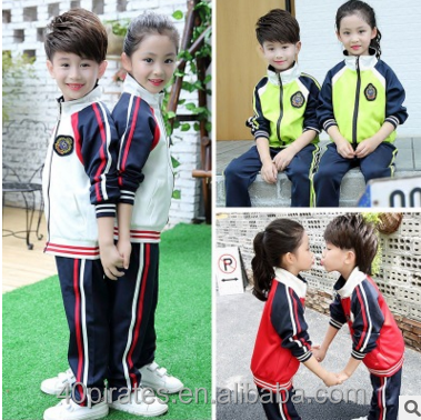 trauser oem tracksuits korean kids design with pictures japan long sleeve primary sexs girls photo kindergarten school uniform