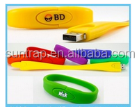 waterproof usb bracelet