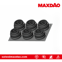 6 panel rubber seal cable entry