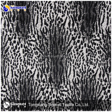 100% printted velvet animal velour aloba fabric polyester microfiber fabric