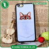 Phone accessories cartoon design UV printing phone case pocket cat pocket dog full cover for iphone 5s protective case