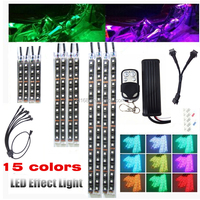 Decoration Led Motorcycles Million Color LED