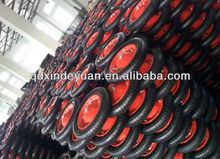 pneumatic and solid wheelbarrow rubber wheel