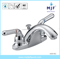 Chrome Plated Bathroom UPC cUPC CSA Lavatory Bathroom Sink Faucet (4204-402)