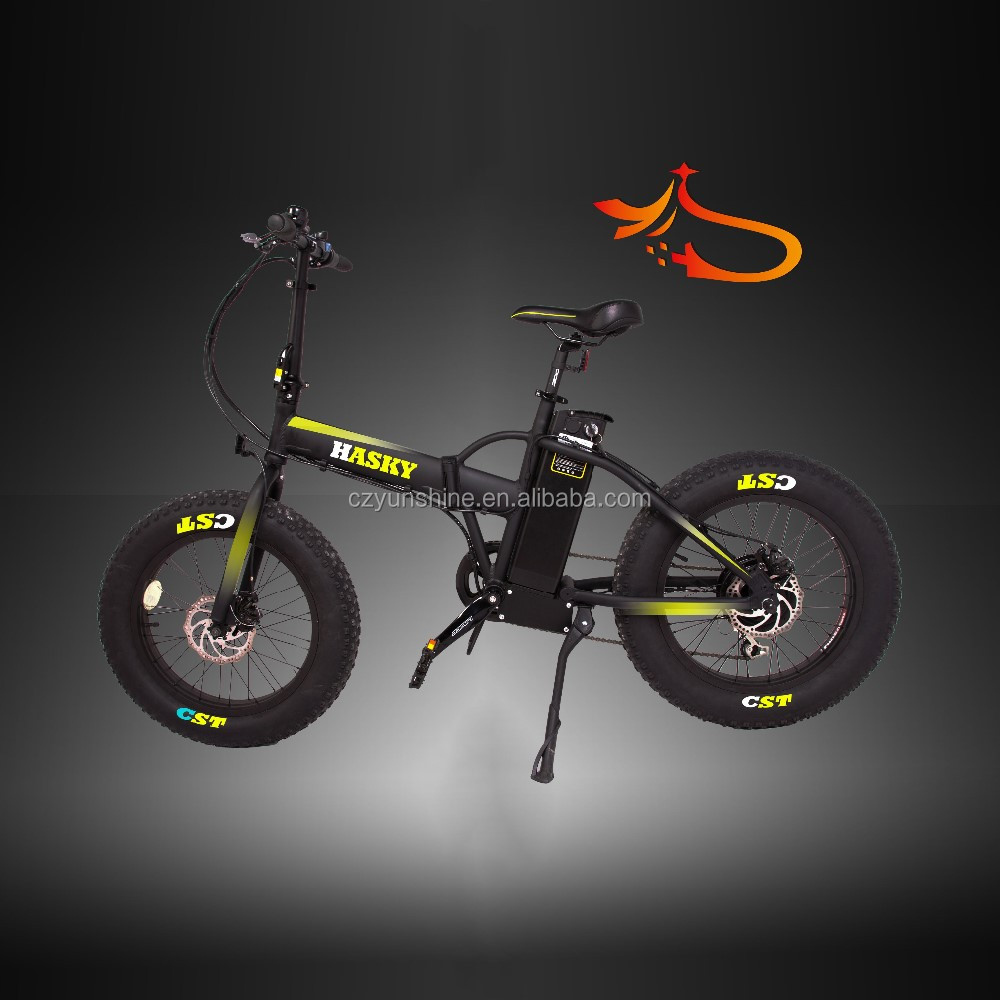Hasky fat bike ,50cc electric start mini dirt folding fat tire electric bike