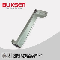 Customized stainless steel metal z shaped bracket