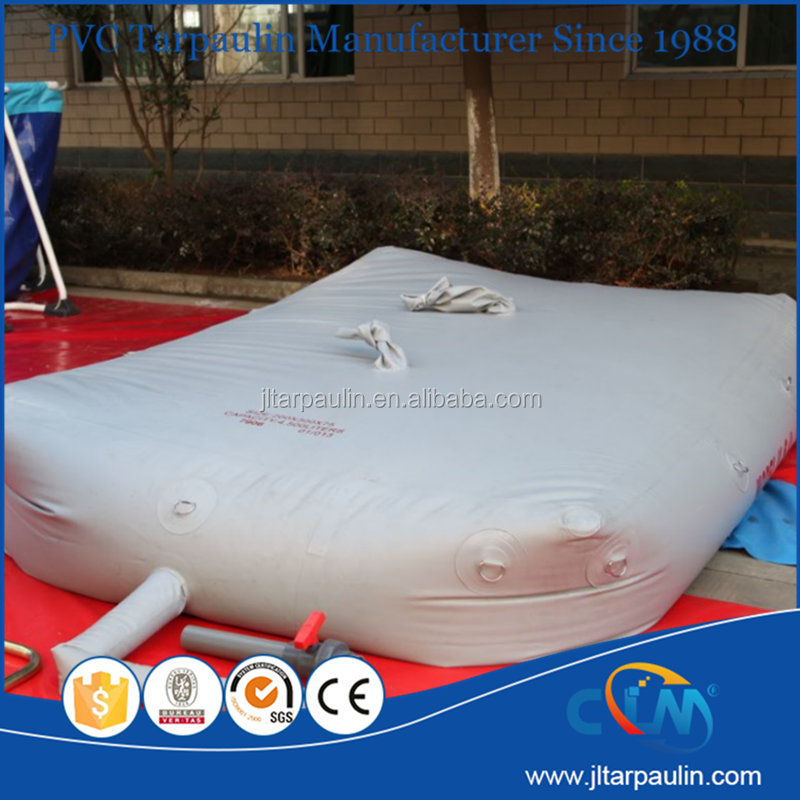 PVC inflatable water tank and biogas tank