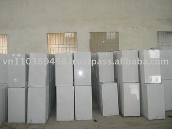 80x40x3cm polished pure white marble