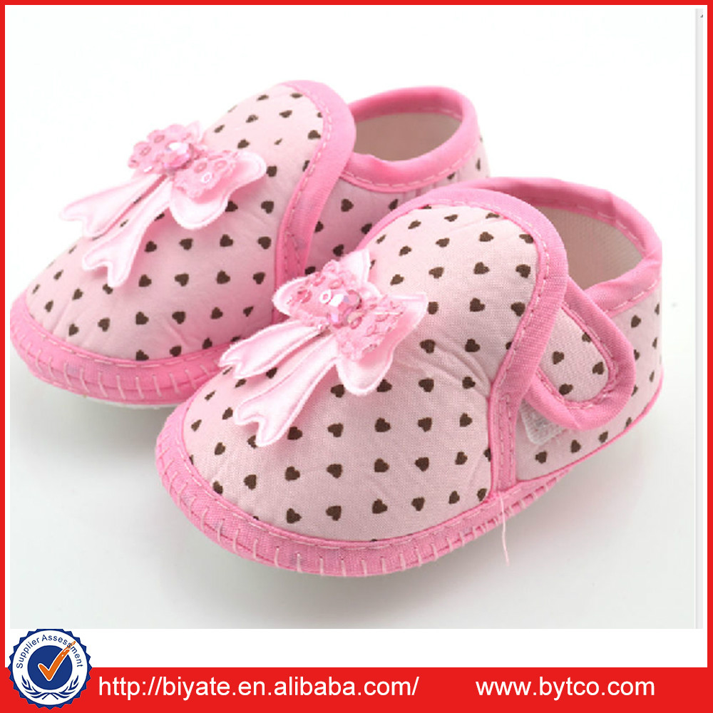 Newborn Soft sole Infant Unisex Baby Girl Boy Crib Toddler Shoes 6-12 Months X15
