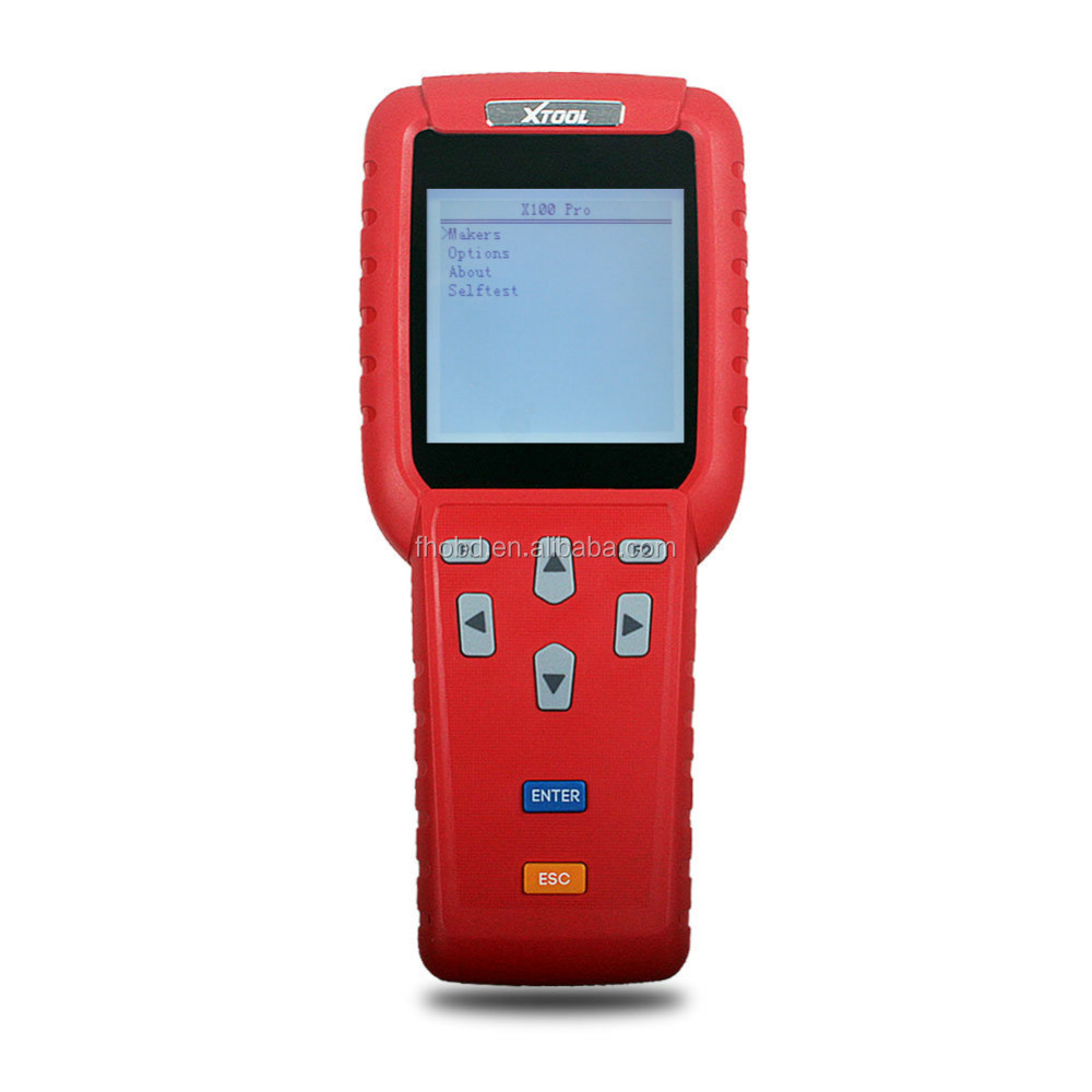 Hot Selling X 100 Pro X100 Auto Key Programmer Handheld Device X-100 Pro Original Programming Tool For Key / ECU / Immobilizer