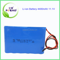 Fantastic 4400mah rechargeable 12 volt lithium ion battery pack