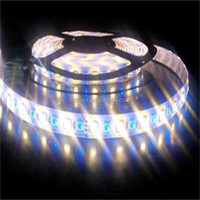 Shenzhen 10mm 5050 continuous length flexible led light strip with dual color