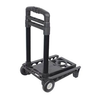Luggage Trolley Cart Compact Folding Shopping Cart Portable