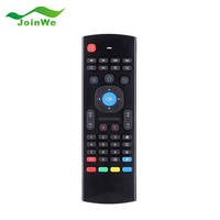In stock! 2.4G Remote Control Fly Mouse Wireless Keyboard for MX3 Android Mini PC TV Box