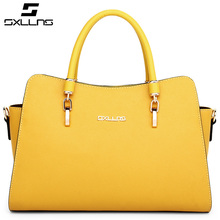 SXLLNS Genuine leather handbag office tote bag for lady wholesale purse with shoulder strap