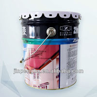 18 liter printed high quality paint/chemical tin/steel can/bucket/drum/pail with handle