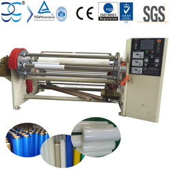 High Transparency Static Protective Film Roll Rewinding Machine