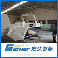 Excellent Material Alibaba Suppliers Low Price Aluminum Barge Boat